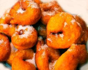 "Have you ever tried pumpkin ""buñuelos""?"