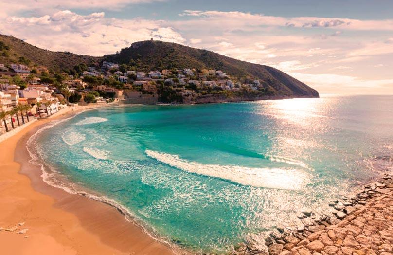 Playa El Portet Teulada Moraira