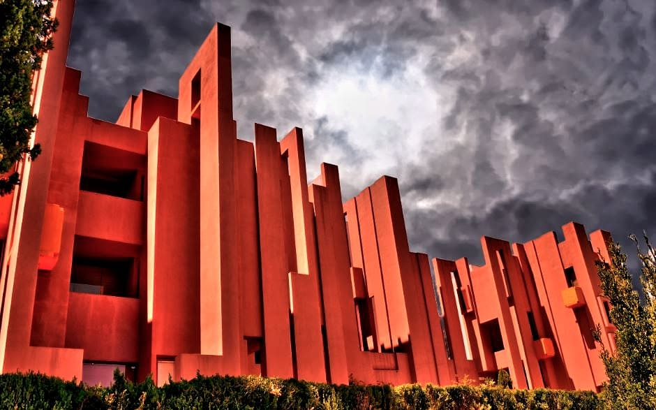 la Muralla Roja de Ricardo Bofill, Calpe