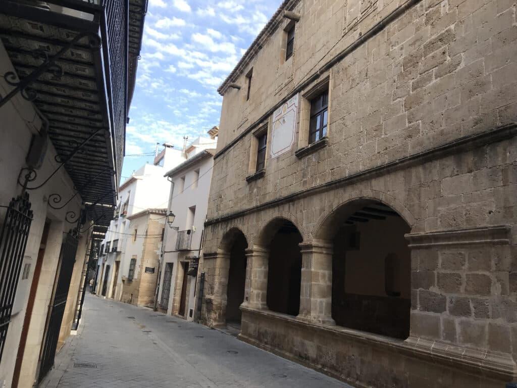 Sala Consell, en el centro histórico de Benissa