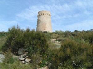 Torre Vigía Cap d'Or en Moraira